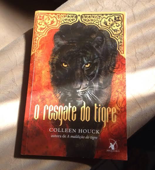 Resenha: O Resgate do Tigre – Colleen Houck